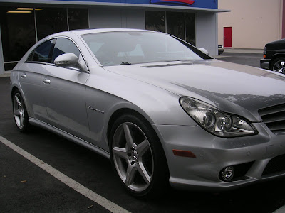 Mercedes CLS55 AMG after bodywork at Almost Everything