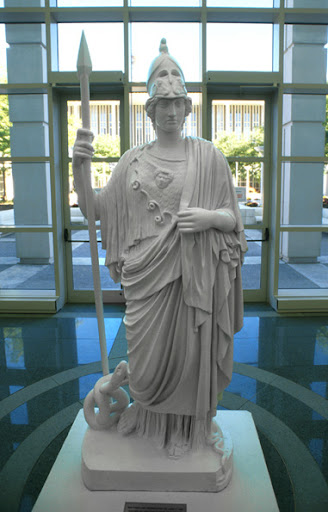 Greek Goddess Minerva Image