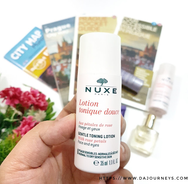 Nuxe Toning Lotion with Rose Petals review