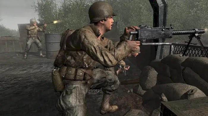 Game Sequence Call of Duty