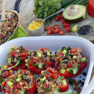 Taco Stuffed Bell Peppers Recipe