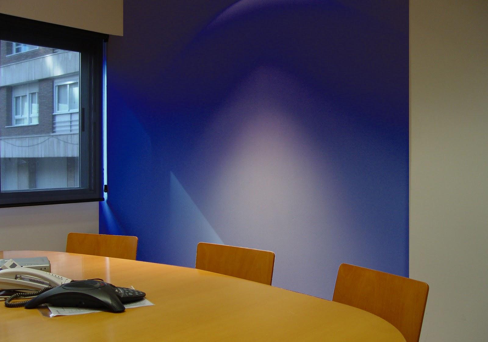 Reforma luisonrh for Color azul grisaceo para paredes
