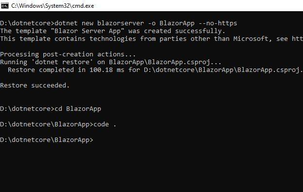 open vs code from cmd