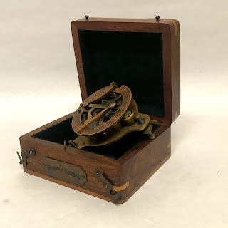 Stanley London Brass Compass/Sextant/Sundial
