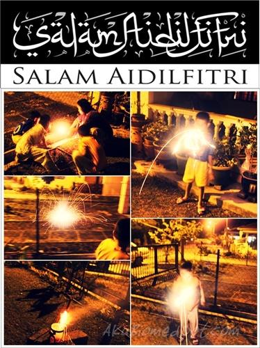 Ucapan Salam Aidilfitri kepada sahabat blogger