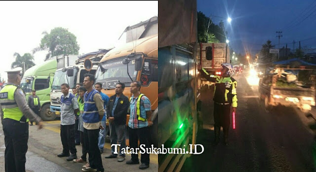 Jokowi Di Cicurug, Truk Angkutan Berat Tidak Beroperasi