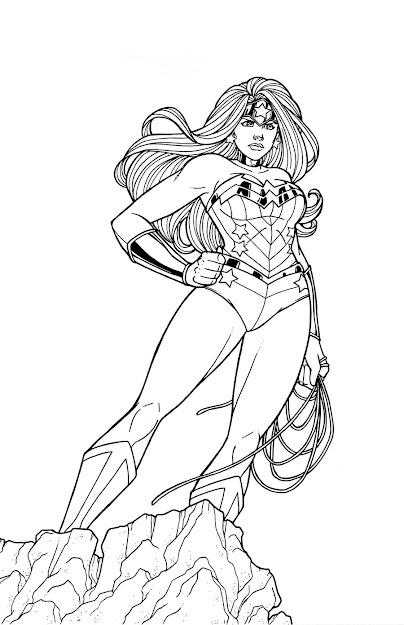 Wonder Woman Running