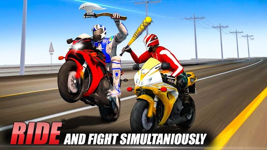 Bike Attack Race : Stunt Rider- screenshot thumbnail