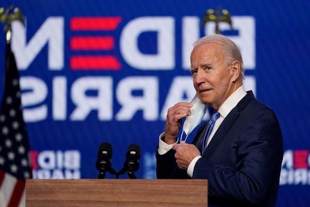 Hasil Perhitungan Sementara Membuat Biden mendekati kemenangan