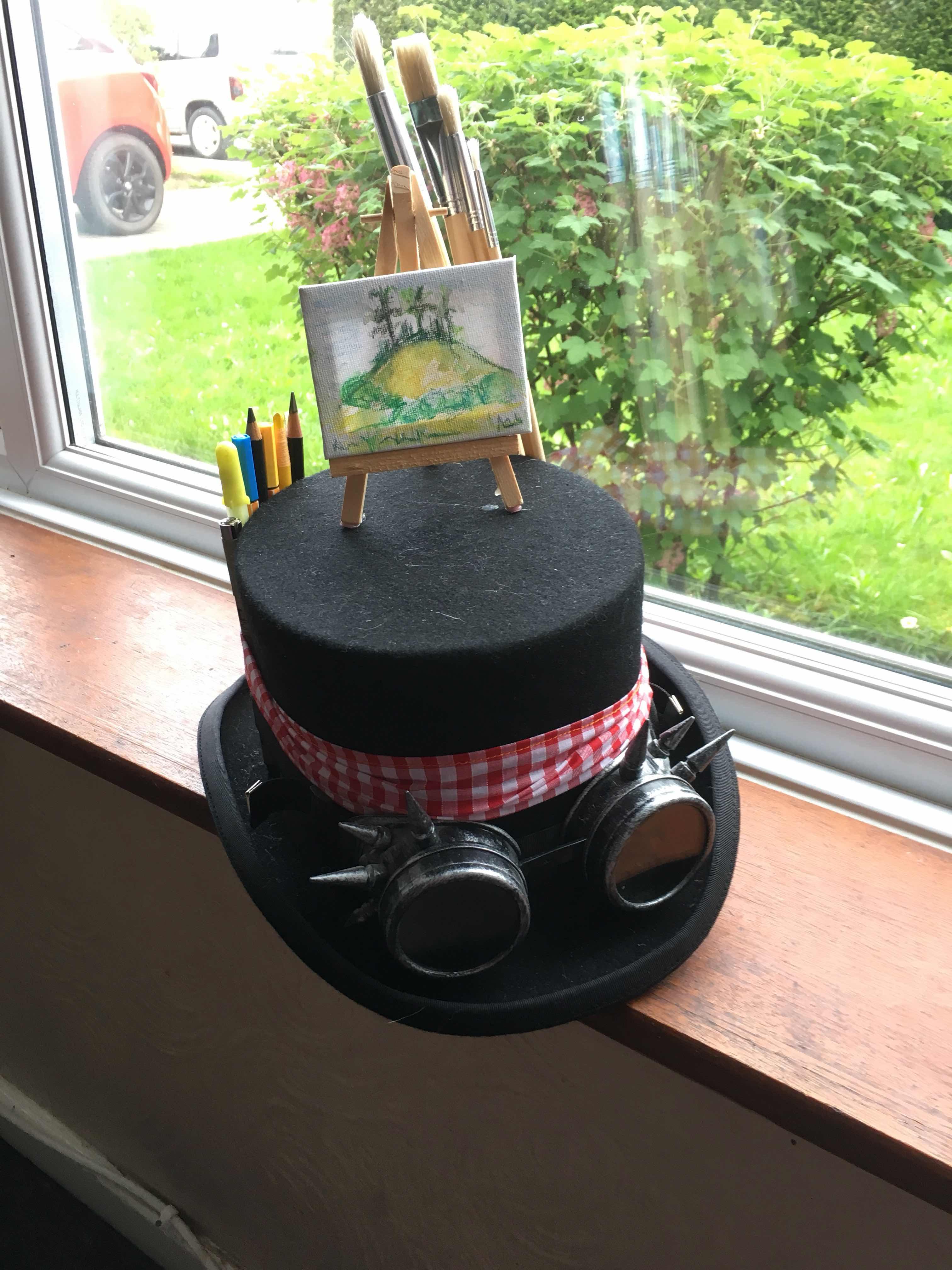 wharfedale wayzgoose, hat, new, w.i.p,