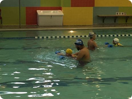 Liberty's Final Swimming Lesson