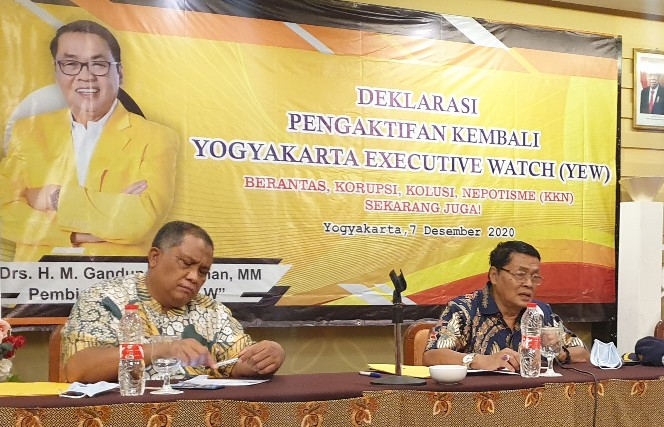Yogyakarta Eksekutif Watch Desak Hukuman Mati Diterapkan Koruptor Bansos Covid-19