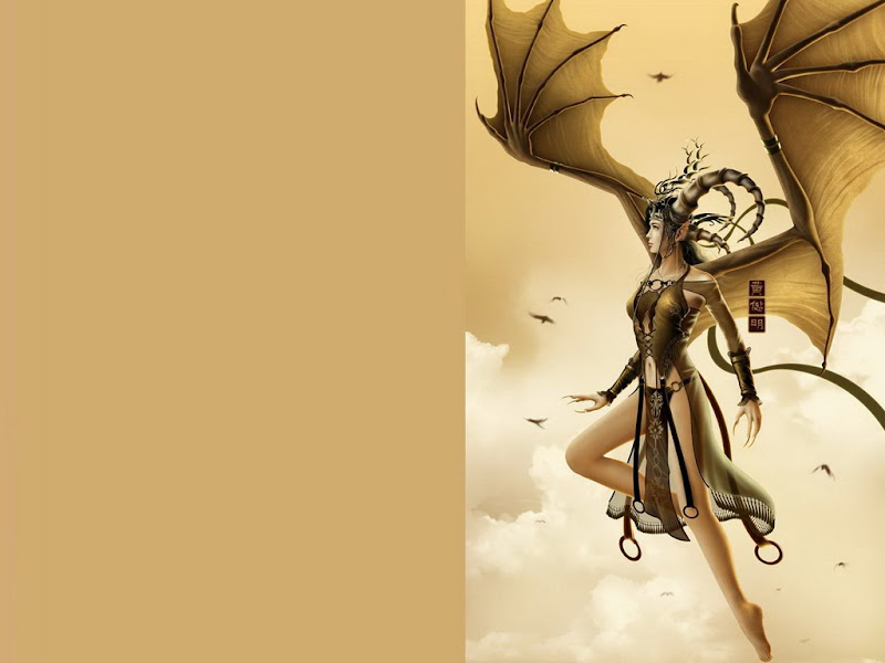 Flying Dragon Fantasy Girl, Demonesses