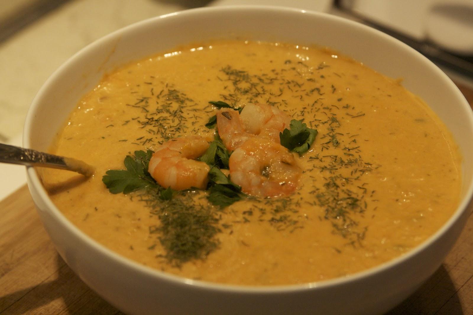 Shrimp Bisque - Seriously Soupy