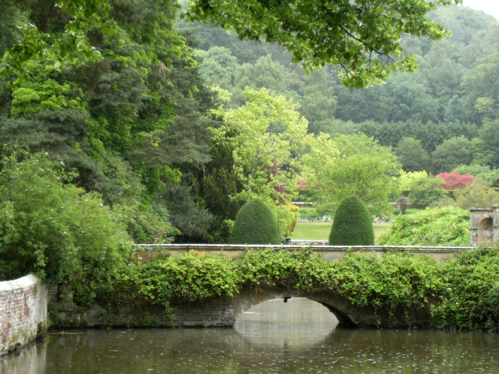 DSCF8231 Groombridge Place moat and gardens