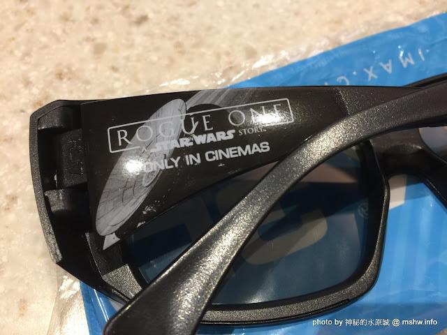 【電影】IMAX 3D眼鏡俠盜一號版-IMAX 3D Glasses Rogue One Edition@星際大戰外傳的小禮物! 影城 影視設備 電影