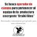 URUGUAY: Se busca OPERADOR de CÁMARA para pertenecer a PRODUCTORA