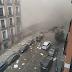 FORTE EXPLOSÃO ATINGE PRÉDIO NO CENTRO DE MADRI; HÁ MORTOS E FERIDOS. VEJA