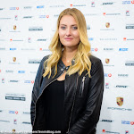 STUTTGART, GERMANY - APRIL 18 : Kristina Mladenovic at the 2016 Porsche Tennis Grand Prix players introduction