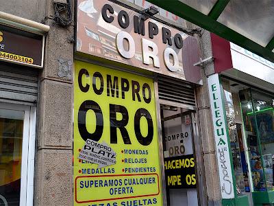 Tienda Oro Efectivo Autonomía 6 Bilbao