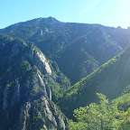 Beau point de vue depuis le Col du cheval mort.