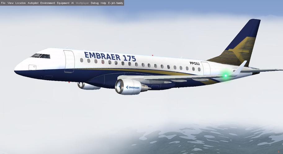 how to start embraer-170lr xp10v2