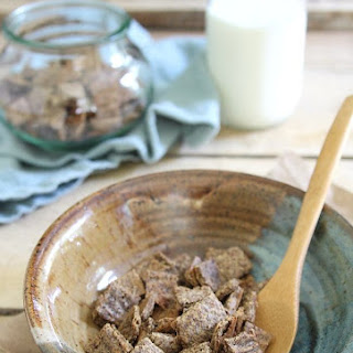 Healthy Cinnamon Crunch Cereal
