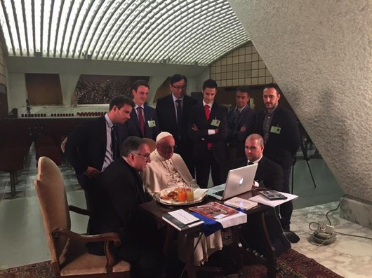 Pope laptop