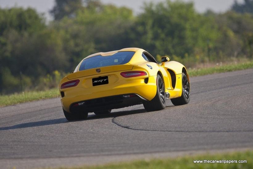 Dodge Viper SRT Track Pack 2013