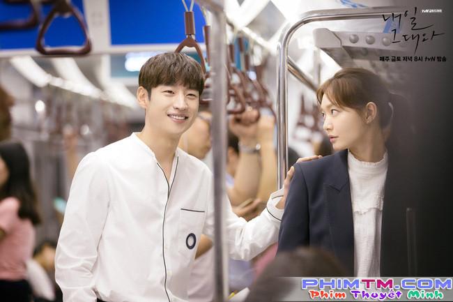 """5 lí do khiến """"Tomorrow with You"""" mất khán giả dù đã có mỹ nhân Shin Min Ah - Ảnh 1."""