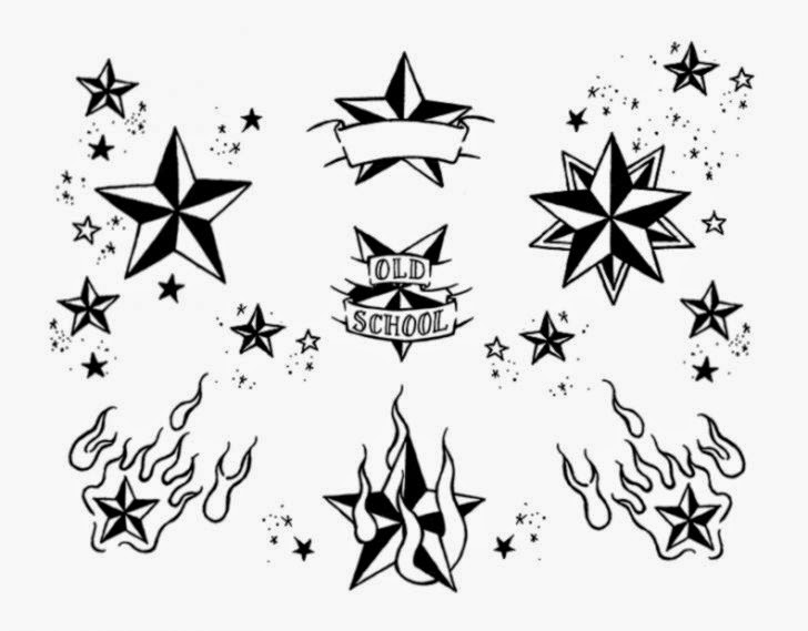 DeviantArt More Like James39s Nautical Star Tattoo by thefunkyinuit