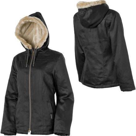 ab646bfb932 Sherri Bernstein  Hemp Hoodlamb Classic Hoodlamb Jacket - Women s ...