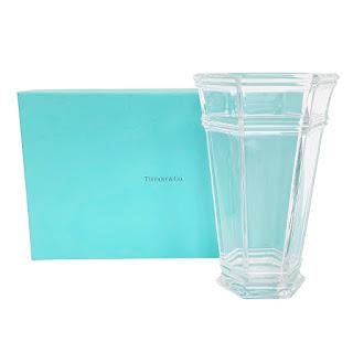 Tiffany & Co. Glass Vase