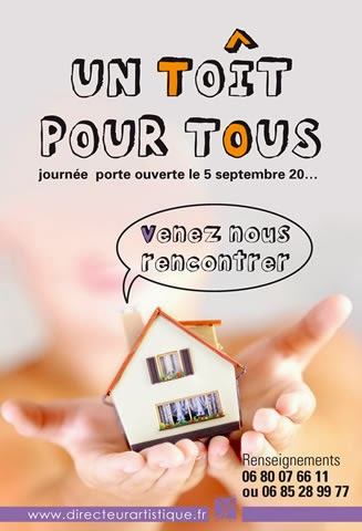 création flyers Agence Immobilier