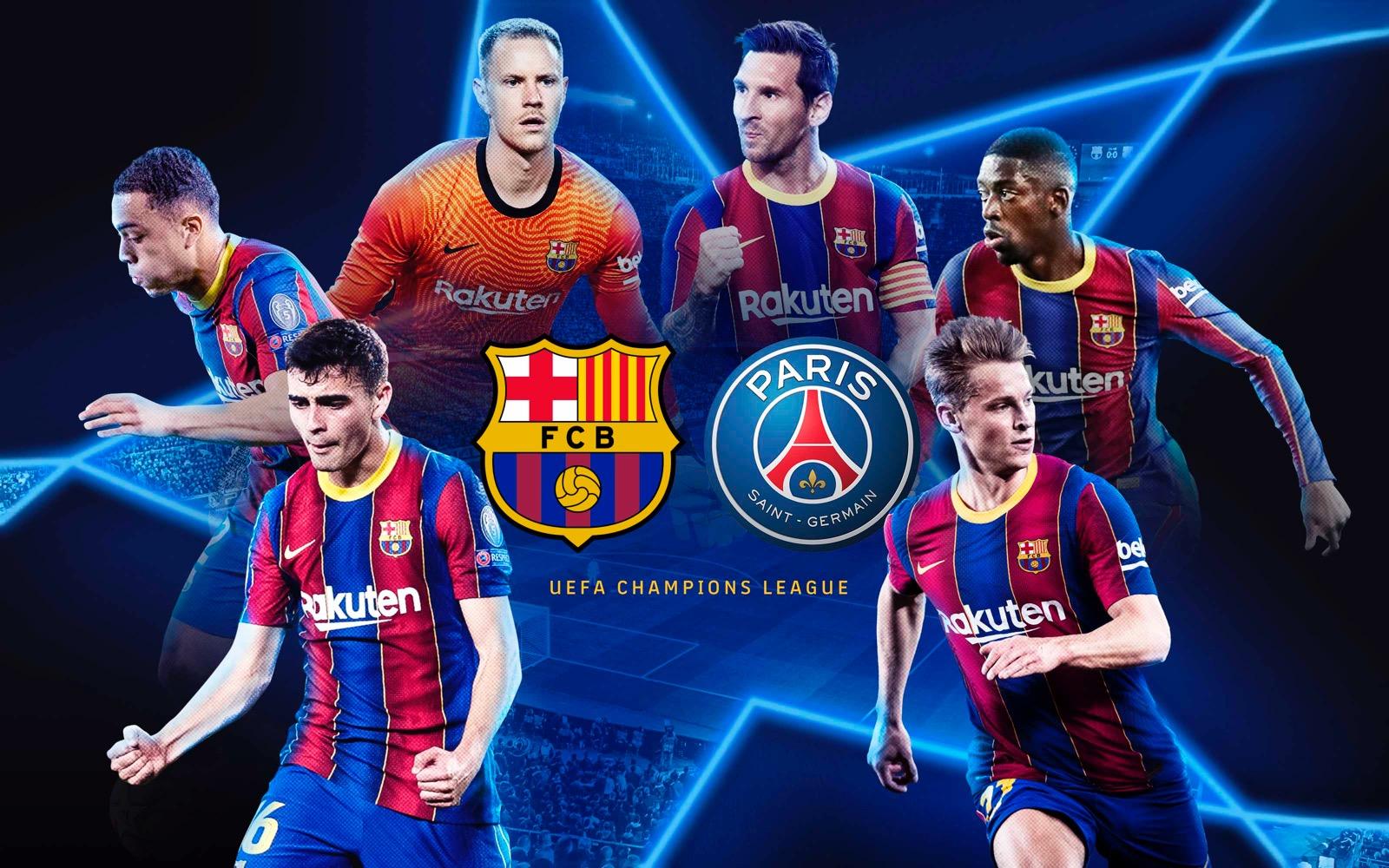 Barcelona vs PSG Live Stream Champions League, The Quarter Final