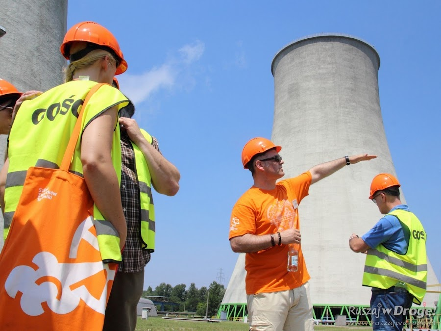 Pomarańczowa pozytywna energia - Industriada