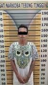 Asik Nongki di Pinggir Jalan, ARM Diciduk Sat Narkoba Polres Tebing Tinggi
