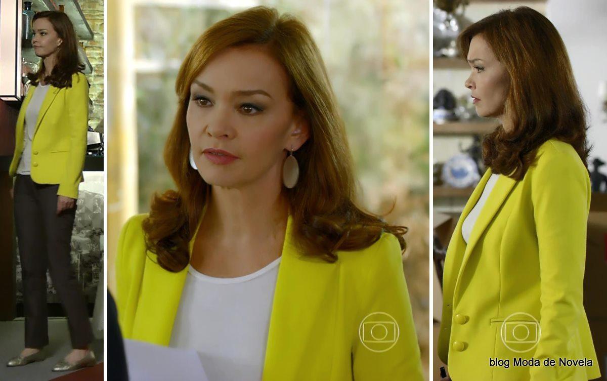 moda da novela Em Família - look da Helena dia 27 de maio