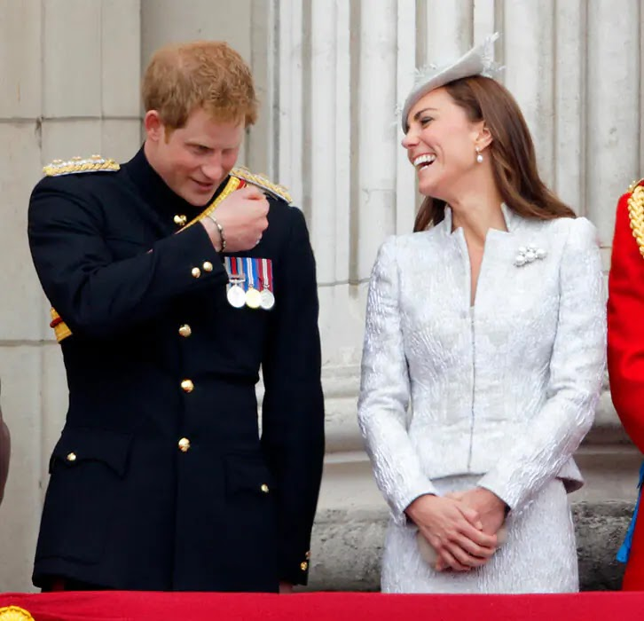 Times Prince Harry has made Sister-in-Law Kate Middleton Giggle in Public