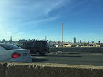 On the drive to JFK - you can see 432 Park from this perspective and see just how freakin' tall it is