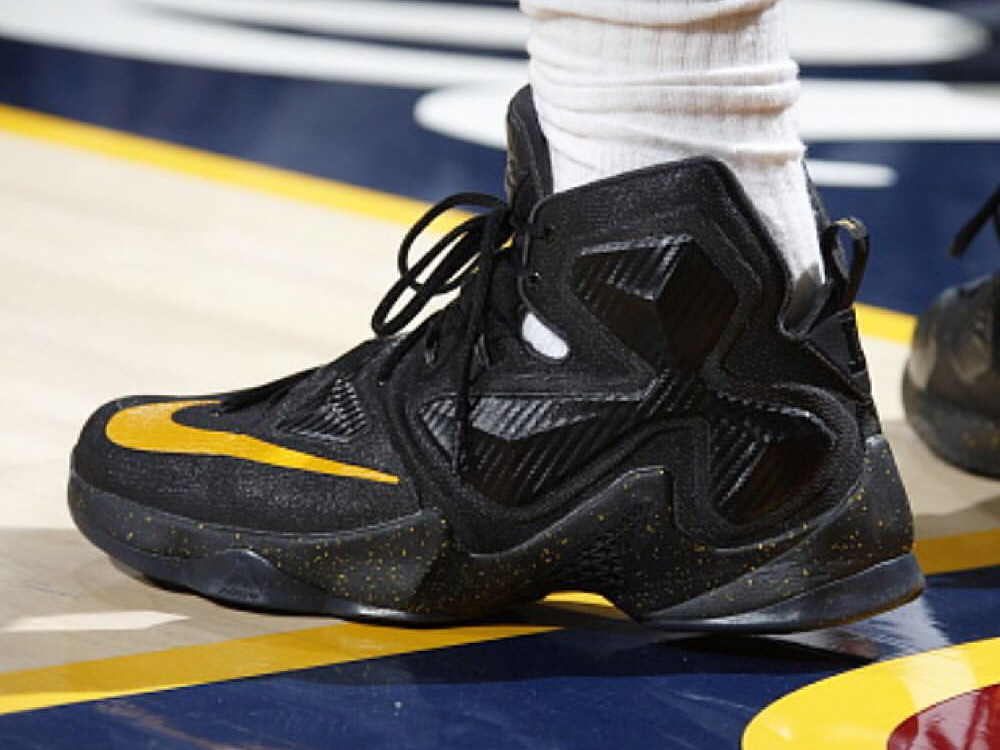 King James Debuts the Nike LeBron XIII 13 Away Edition ...