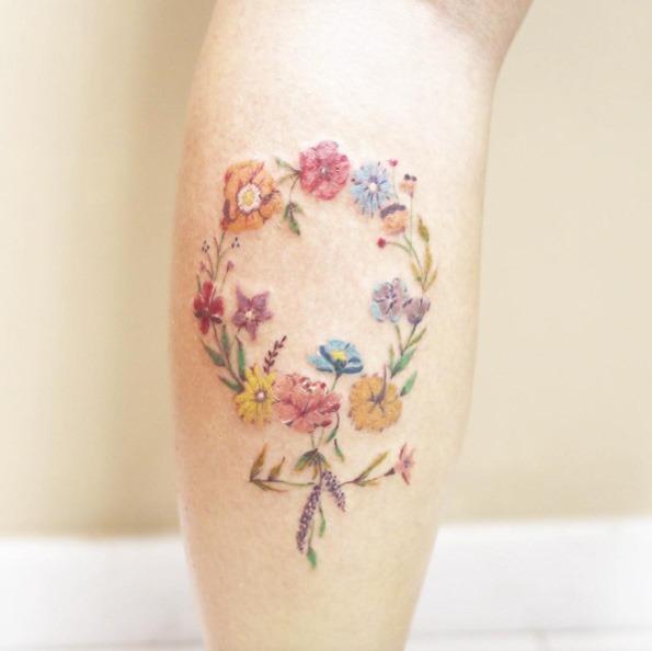 este_floral_feminino_smbolo