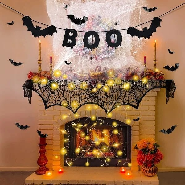 Halloween decors at home