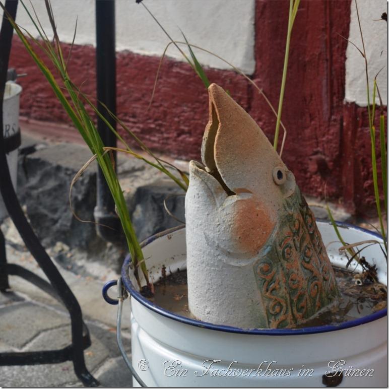 Wenn der Garten für den Winter Fit sein soll, darf man auch die Deko nicht vergessen.