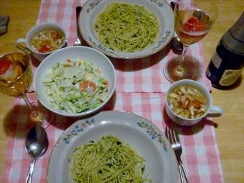 Spaghettini Genovese