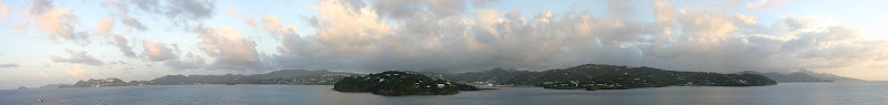 St. Lucia panorama