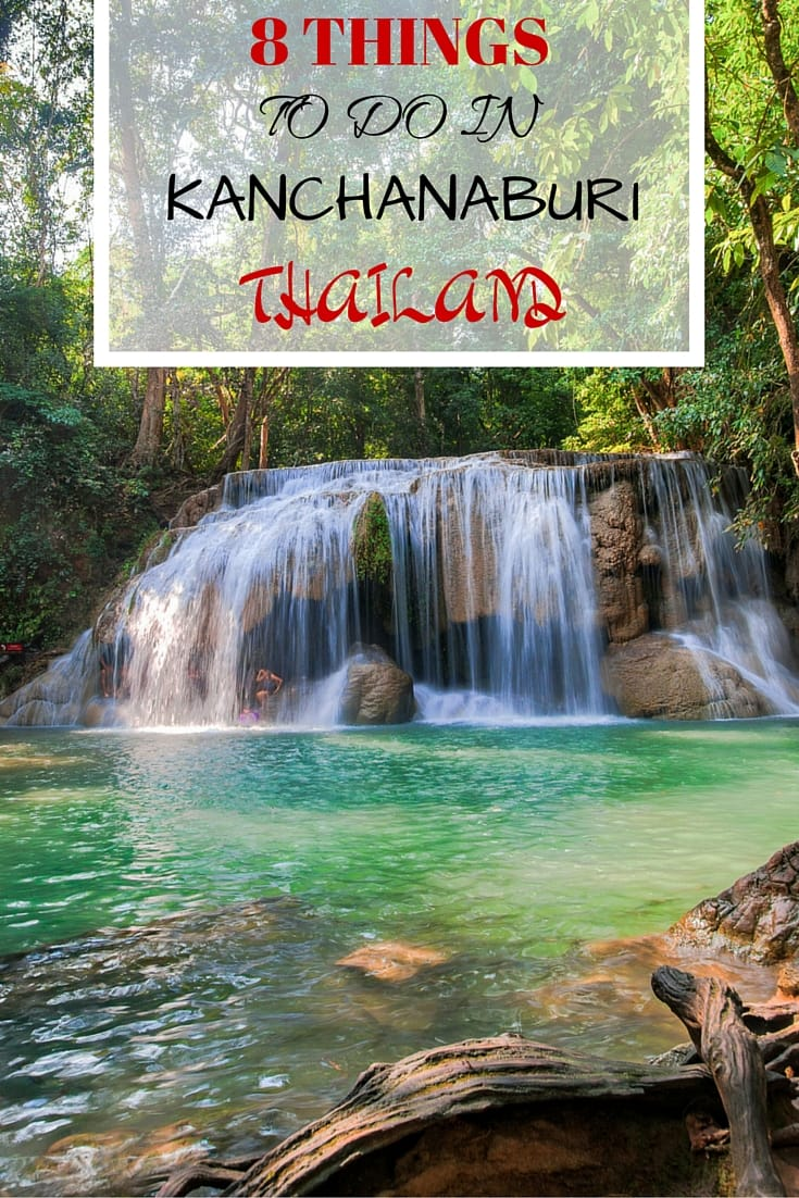 Tips and idea for visiting Kanchanaburi in Thailand including the bridge over the river Kwai, Jeath war museum and temples