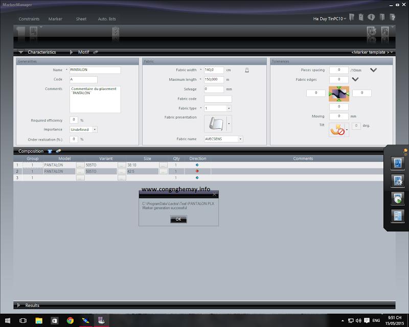 Cài Đặt Lectra-Gerber-Optitex-StyleCad Trên Windows10 X64bit 7