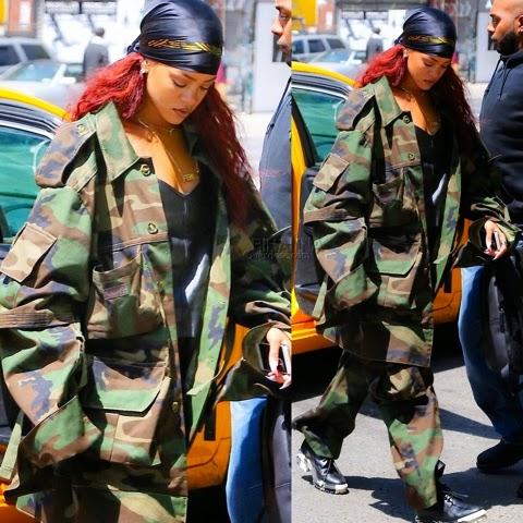 Rihanna Heads Out In Matthew Dolan May 15th Rihanna