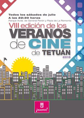 Veranos de cine de Tetuán 2015